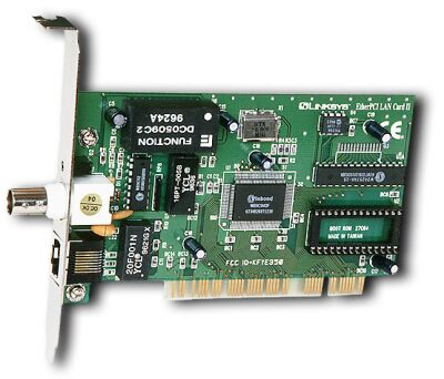 Card Network on This Is A Pci Network Card